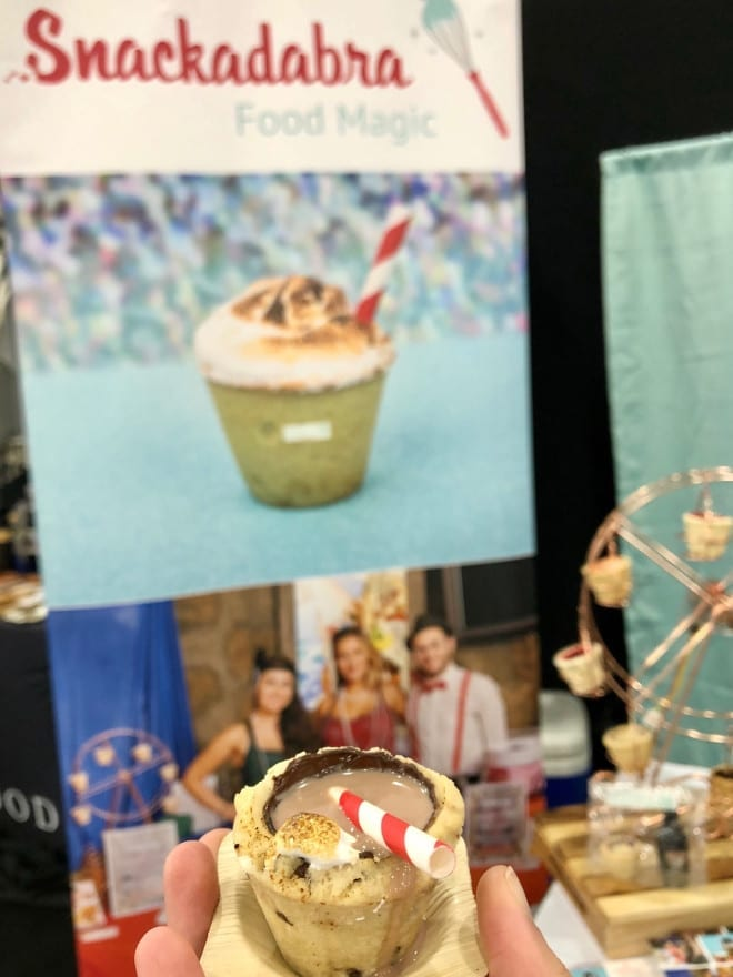 Snackadabra. Edible cookie shot glass. Bizbash NY